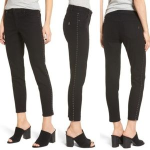 1822 Denim Studded Skinny Jeans